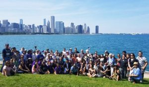 FANHS delegates and the Chicago Skyline