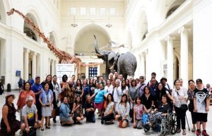 FANHS delegates at the Field Museum.